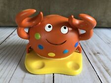 Cute Crab Toothbrush Holder Kids Jumping Beans Brand Bathroom Decor