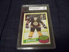 1980-81 OPC O-Pee-Chee #140 Ray Bourque Rookie Boston Bruins - KSA 5 EX