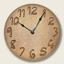 BEACH RIPPLE Wall CLOCK - Beach Sand Numbers - Beach Decor - 7114