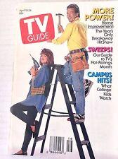 Tv Guide Magazine Tim Allen Home Improvement April 18-24 1992 042317nonrh