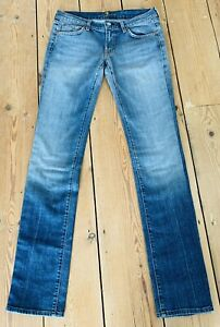 7 For All Mankind Jeans Bootcut Size 29 L33 Blue 5 Pockets
