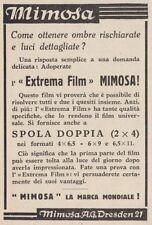 Z3963 Extrema Film MIMOSA - Pubblicità d'epoca - 1933 vintage advertising