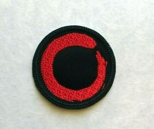 Buddist Imperfect Circle Patch Iron On To Sew on Embroidered Buddhist Patch AP28