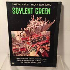 SOYLENT GREEN Charlton Heston Leigh Taylor-You  (US, Warner DVD, 2004)   Sci-Fi