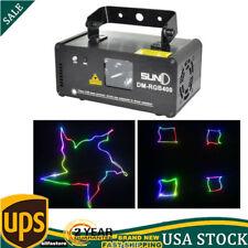 SUNY DM-RGB400 Scan Beam Lighting Laser Lamp DMX Stage Light DJ Effect Projector