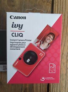 Canon IVY Cliq Instant Film Camera Printer Red Yellow White Blue 2x3 Cannon