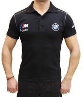 Fait Main Polo BMW M Power Broderie LOGO COLLIER T-shirt Coton Peigné Homme М3