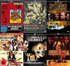 7 Kriegsfilme GANSOS SALVAJES PELÍCULA DE CULTO Colección ROGER MOORE Kinski