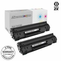 2PK 83A CF283A For HP Black Toner Cartridge LaserJet Pro M127fn M127fw M125nw