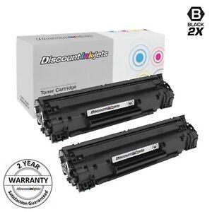 2PK 83A CF283A For HP Black Toner Cartridge LaserJet Pro M127fn M127fw M125nw