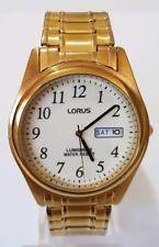 Lorus Mens' Lumibright Dial Expandable Bracelet Watch VX43-X015 - by Seiko