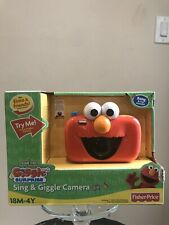 Fisher Price Sesame Street Sing N Giggle Camera - R1901, Hard to Find Item!!!!