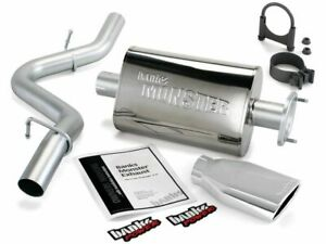 For 2004-2006 Jeep Wrangler Exhaust System Banks 74823CC 2005 4.0L 6 Cyl