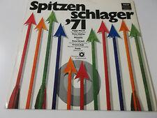SPITZENSCHLAGER '71 - DECCA VINYL LP (MANUELA FRANCE GALL PEGGY MARCH)