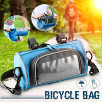 Portable Front Bicycle Bag Waterproof Handlebar Shoulder Strap  Basket Bag