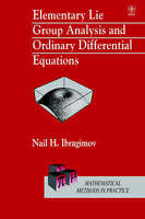 Elementary Lie Group Analysis and Ordinary Differential Equations by Ibragimov,
