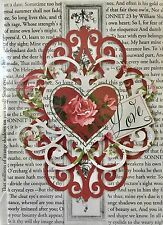 Anna Griffin® Single(1) Embellished 3D Valentine's Card ~ If I Know What Love Is