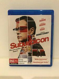 Suburbicon BLU RAY (2017 Matt Damon comedy drama movie)