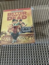 Better Off Dead (1985)Blu-Ray Steelbook - New/Sealed - Fye Exclusive