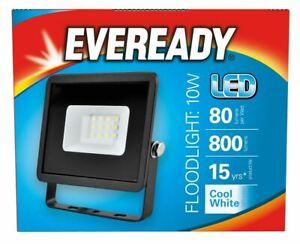 Eveready LED Security Light IP65 Outdoor Floodlight 4000K Wall Light Lamp