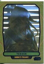 Star Wars Galactic Files 2 Blue Parallel Base Card #374 Tessek
