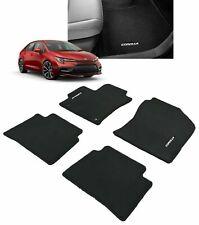 2020 Toyota Corolla Genuine OEM Carpet Floor Mat set 4pc Black PT206-02200-01