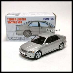 Tomica Limited Vintage NEO LV Hong Kong Exclusive '99 LEXUS IS200 Silver Tomytec