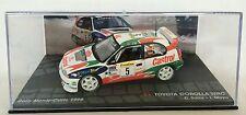 TOYOTA COROLLA WRC MONTE CARLO 1998 SAINZ 1:43 RALLY DIECAST CAR - IXO