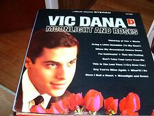 VIC DANA-MOONLIGHT AND ROSES-LP-VG+-DOLTON RECORDS-VISUAL SOUND STEREO