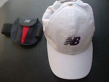 New Balance Cap WHITE & New Balance Armband