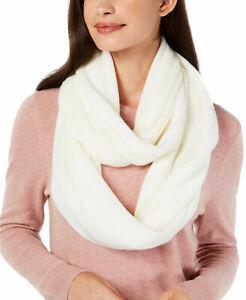 CALVIN KLEIN Echarpe tube foulard châle NEUVE couleur blanc