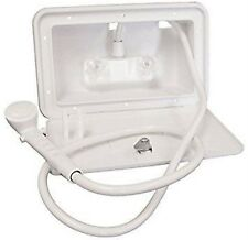 Lasalle Bristol 742007 White Paintable Outside Shower Kit with Lock