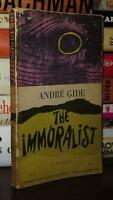 Gide, Andre THE IMMORALIST  1st Edition Thus 4th Printing