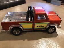 "Vintage Tonka Brown/Rust/Orange Truck Roll Bar Pressed Steel 7 1/8"" Chevy Body?"