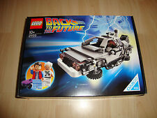 Lego Cuusoo 21103 La DeLorean Time Machine-Neuf