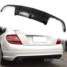 SHIP FROM LA Carbon Mercedes Benz W204 4D C63 Rear Bumper Diffuser C300 SPORT