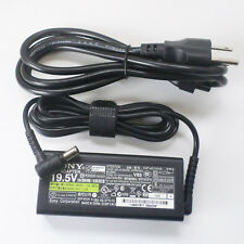 Genuine Original For Sony Vaio 19.5V 3.3A Vgp-ac19v44 Laptop Charger AC Adapter