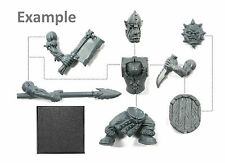 Bitz Orc Boy Boyz (Randomly Selected) Single Figure Kit with Shield + Options