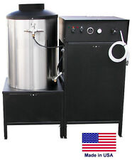 Pressure Washer Electric - Natural Gas Burner - 5 Gpm 3000 Psi 10 Hp 230V 3 Ph