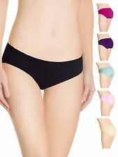 6 Womens Underwear Hipsters Girls Cotton panties Lot Size 5 pack Briefs Small US