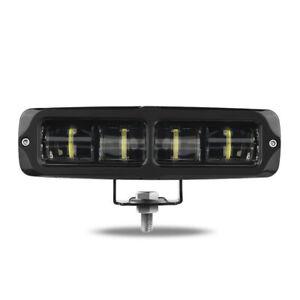 6D LED Light Bar Pods 6inch 20W Work Lamp Flood Spot Offroad SUV 4WD ATV Truck