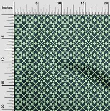 oneOone Ethnic Geometric Flame Stitch Print Fabric By The Yard - FI-1004A_1