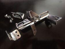 CHROME THROTTLE KICK DOWN  BRACKET KICKDOWN AUTO TRANSMISSION CHEVY HOLLEY AFB