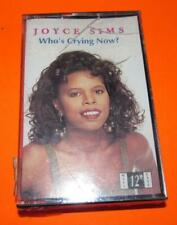 New Factory Sealed Joyce Sims Who's Crying Now? Cassette Tape