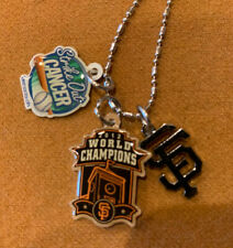 """""""New Sealed"""" San Francisco Giants Mother's Day 2012 World Champ Charm Necklace"""