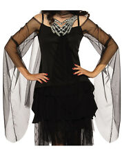 Skeletons Embrace Women Grim Reaper Gothic Witch Costume Top Shirt-One Size