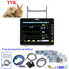 "8"" LCD Multi-functional Portable Veterinary ICU Patient Monitor with 6 Parameter"