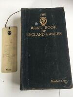 Vintage AA Road book of England and Wales Circa 1943