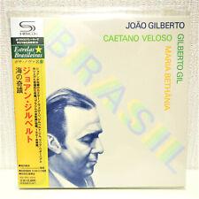 Joao Gilberto - Brasil - Mini LP SHM-CD Paper Sleeve Japan Caetano Veloso