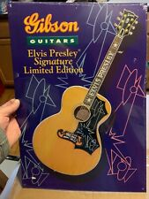 Elvis Presley Signature Gibson Guitars Tin Sign